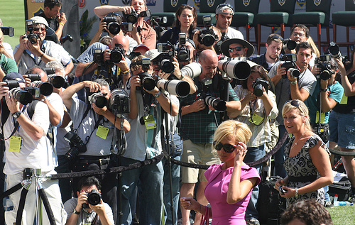 victoria beckham and the paparazzi